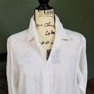 Tommy Bahama White Tunic/Cover Up
